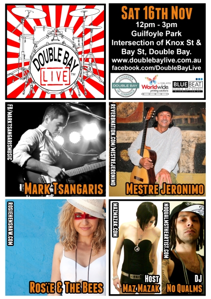 Double Bay Live 16-11-2013 Poster