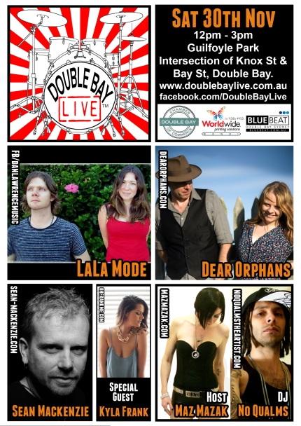 Double Bay Live 30-11-2013 Poster