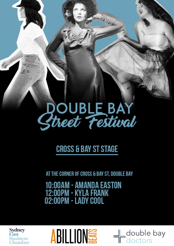 DBSF 2018 Cross & Bay St Stage Poster